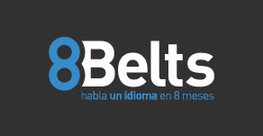 8Belts logo blanco