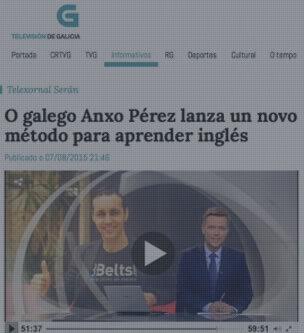 8Belts en la Televisión de Galicia