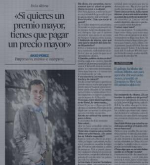 8Belts en El Heraldo de Aragón
