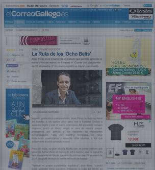 8Belts en El Correo Gallego