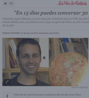 8Belts en La Voz de Galicia